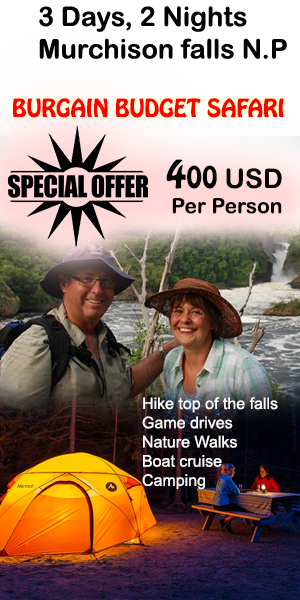 3 days, 2 Nights Murchison falls tour 400 USD Per person