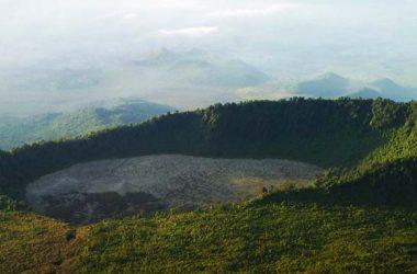 Mount Bisoke Volcano Virunga Mountains, Mountaineering Safari