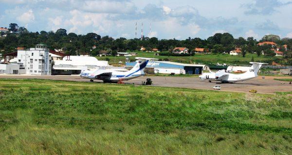 Entebbe town Uganda, Entebbe International Airport