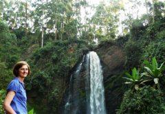 Kisizi falls with SkyTrail zipline, Suspension Bridge, wildlife