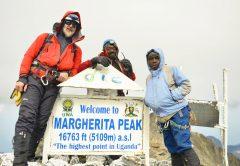 Hiking Margherita Peak