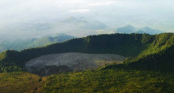 Mount Bisoke Volcano Virunga Mountains, Mountaineering Safari