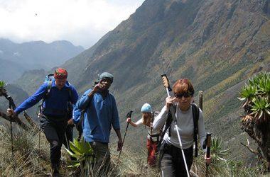 Volcano mountain Climbing, Mountaineering Uganda