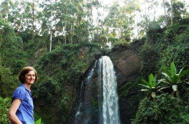 Kisizi falls with SkyTrail zipline, Suspension Bridge, wildlife