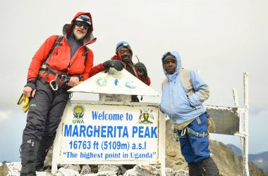 Hiking Margherita Peak